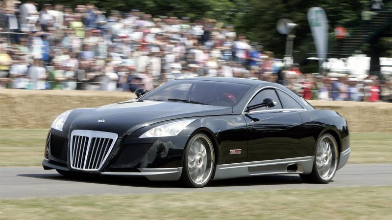 4. Maybach Exelero 2005 года – $8,000,000