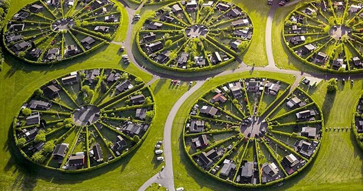 Круги на полях: необычный город-сад в Дании