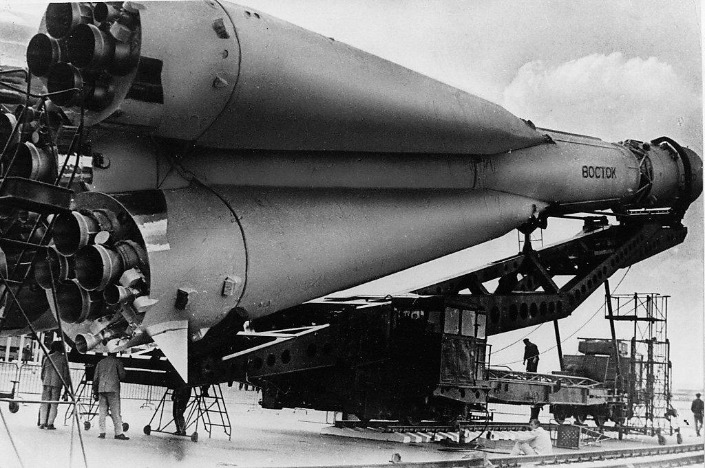 фото ракеты гагарина расклешённым джинсам подойдёт