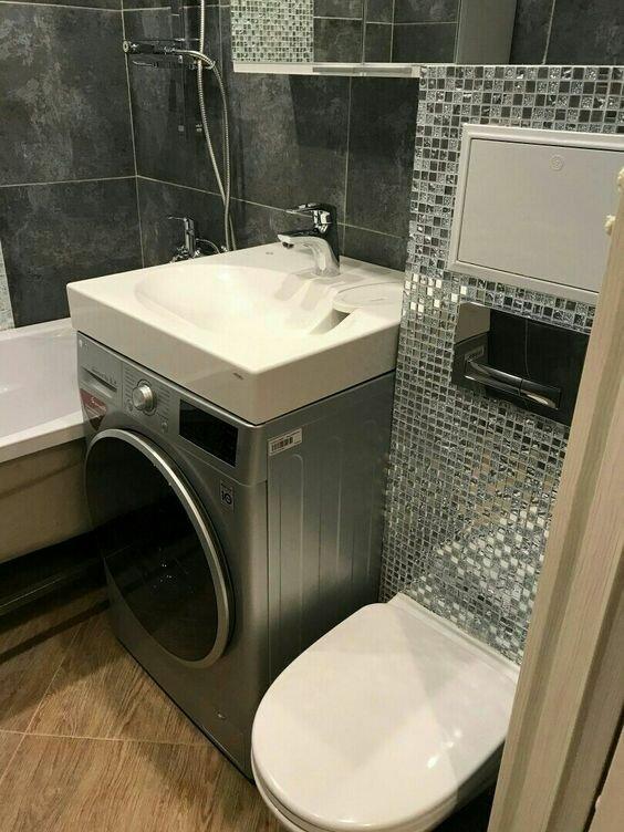 Нескучный дизайн: 20 задумок, которые помогут тем, у кого очень маленькая ванная