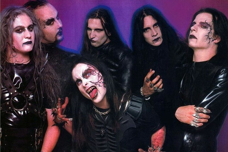 Легенда рока Cradle of Filth