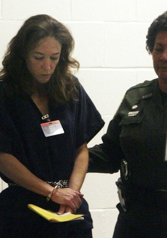 Лиза Мария Новак после ареста. Февраль 2007 года, Орландо