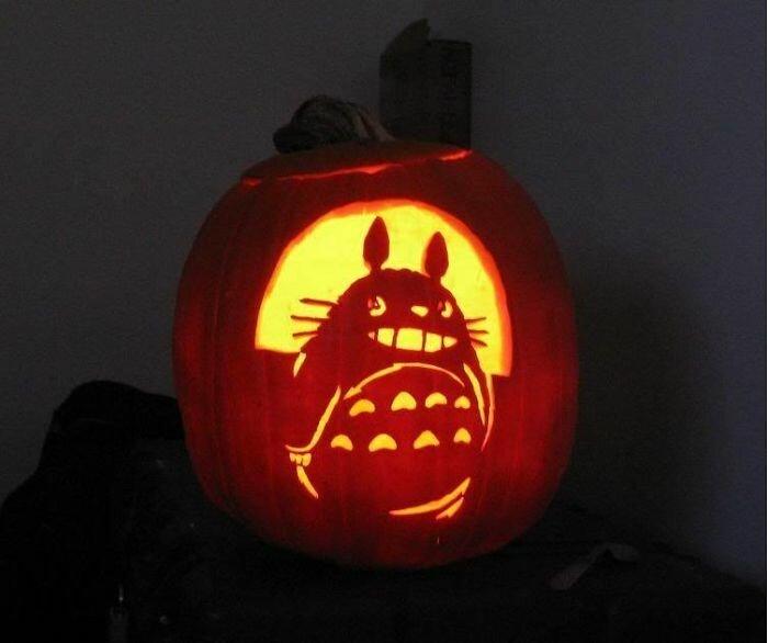 Тыквы к Хэллоуину, вдохновленные студией Ghibli