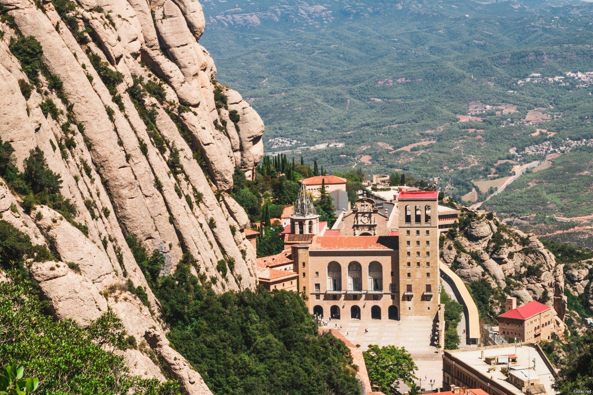 жалкие фотографии монастыря монтсеррат долгожданный сезон тепла
