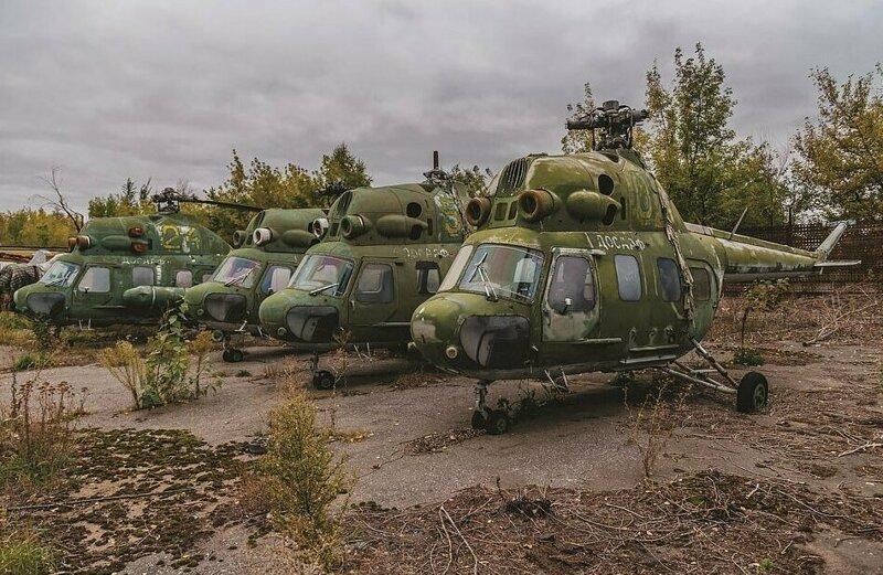 Вертолеты Ми-2 в России