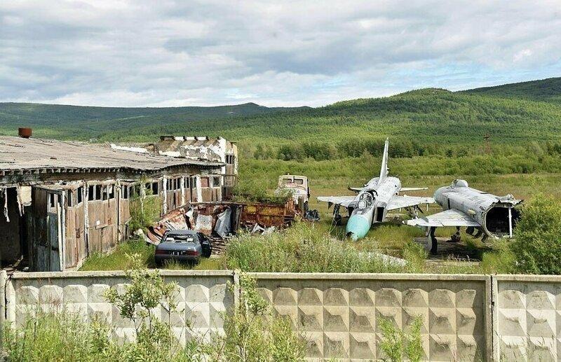 Су-15 в Магадане