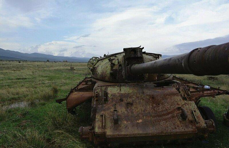 Танк Т-62 в Болгарии
