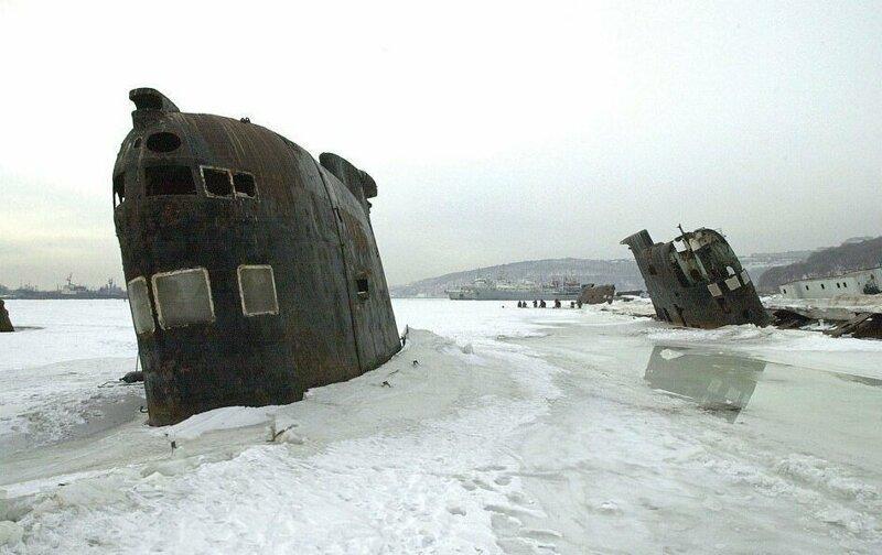 Подводные лодки во Владивостоке
