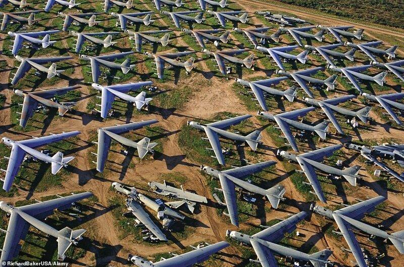 Кладбище самолетов в Аризоне