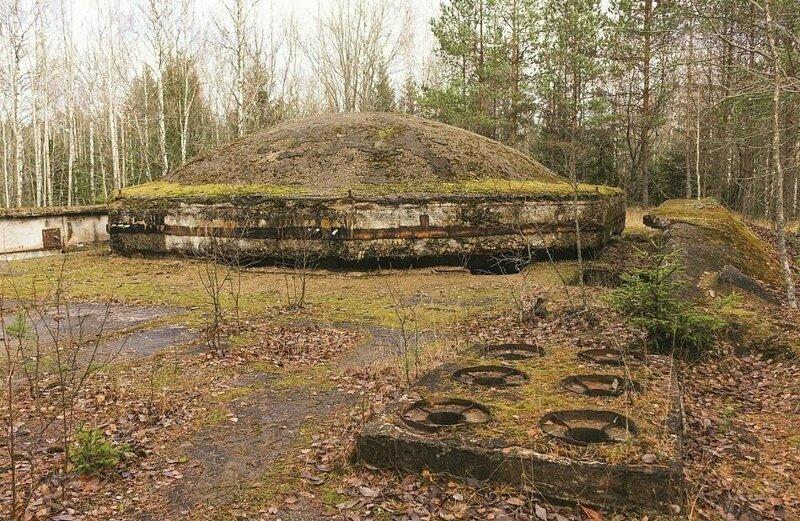 Ядерный бункер в Латвии