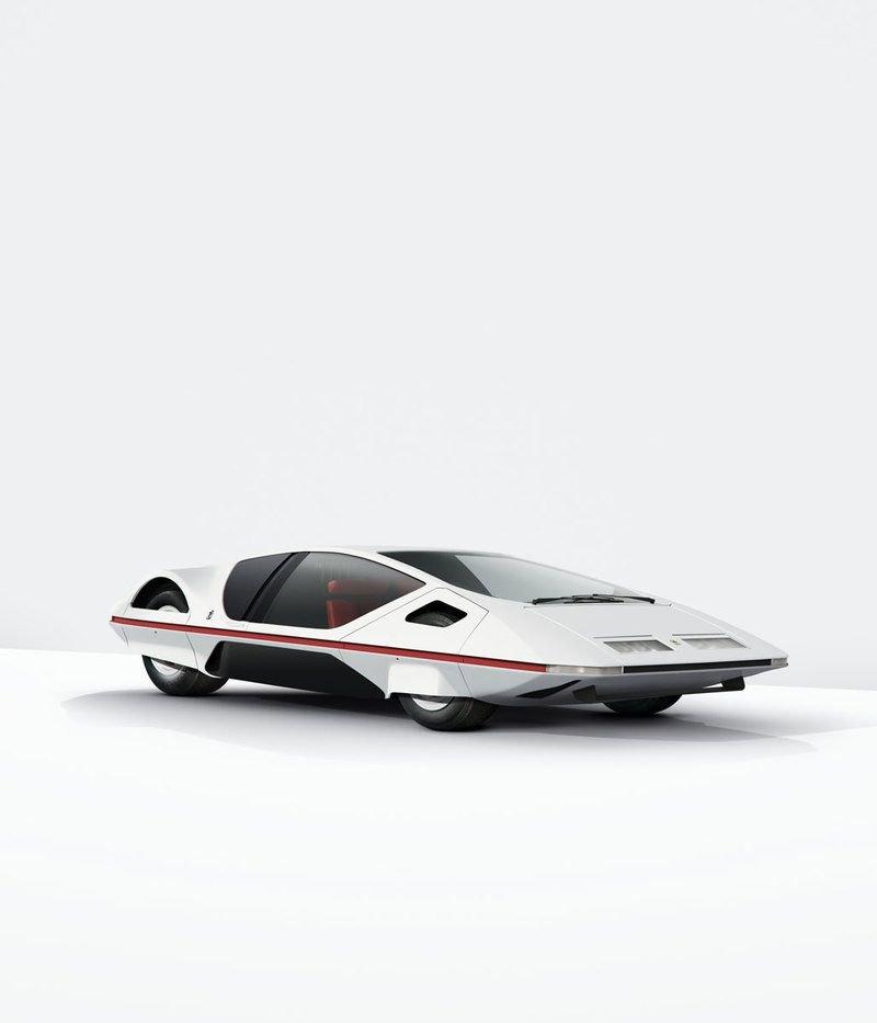 Автомобили, похожие на космические корабли: ретро концепт-кары из Италии