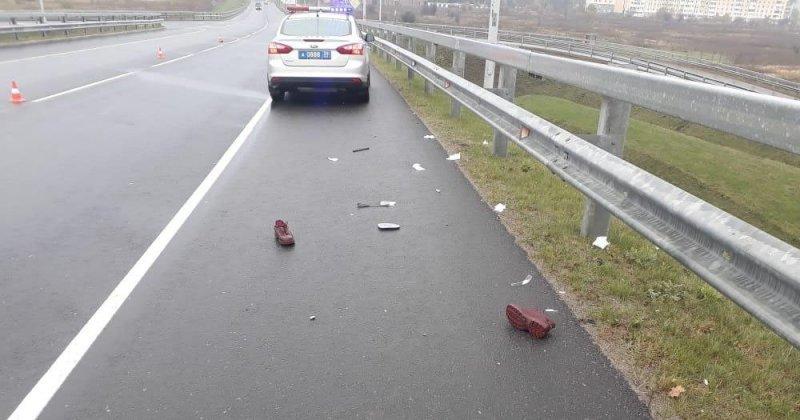 Авария дня. В Калининградской области водитель сбил женщину с коляской и скрылся