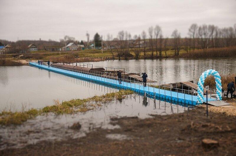 Однако, новый мост вскоре придётся разобрать