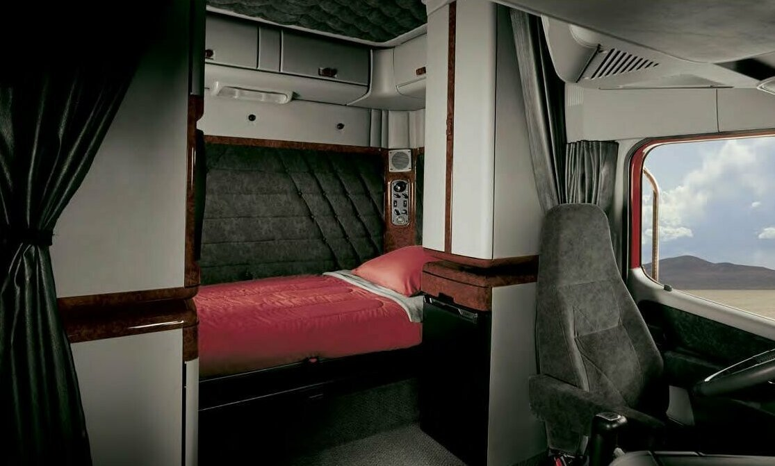продюсеры оценили фото кабин и спальника лучших грузовиков мира рейтинга