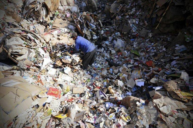 Глобальный рынок мусора