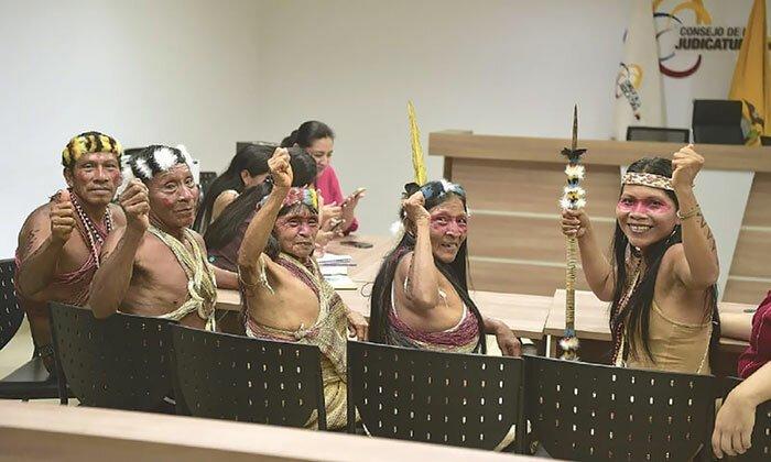 Амазонское племя выиграло судебный процесс против передачи их земли нефтяной компании