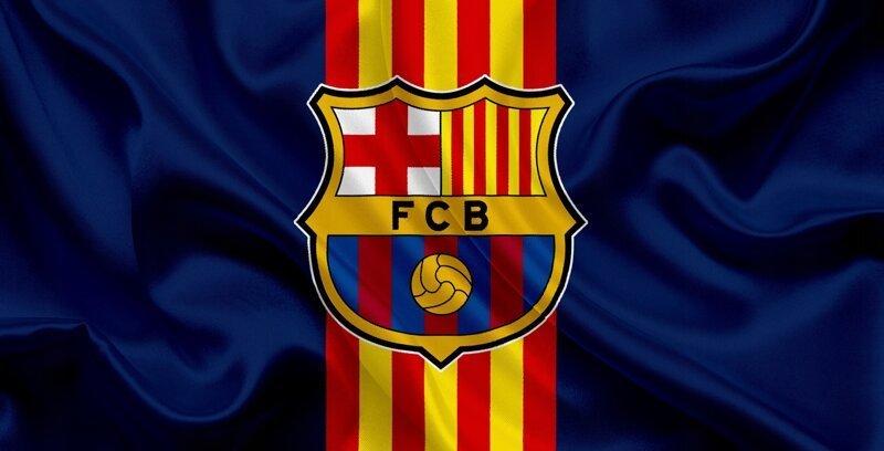 Барселона с символикой клуба