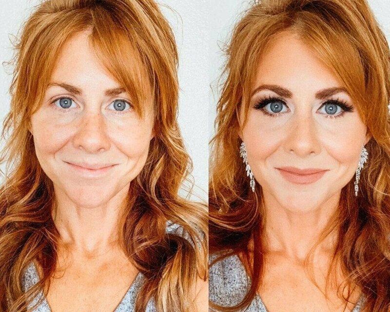 30 фотографий до и после, демонстрирующих силу макияжа