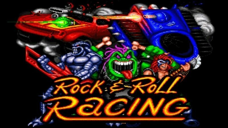 «Гонки под рок-н-ролл»: история создания Rock N' Roll Racing