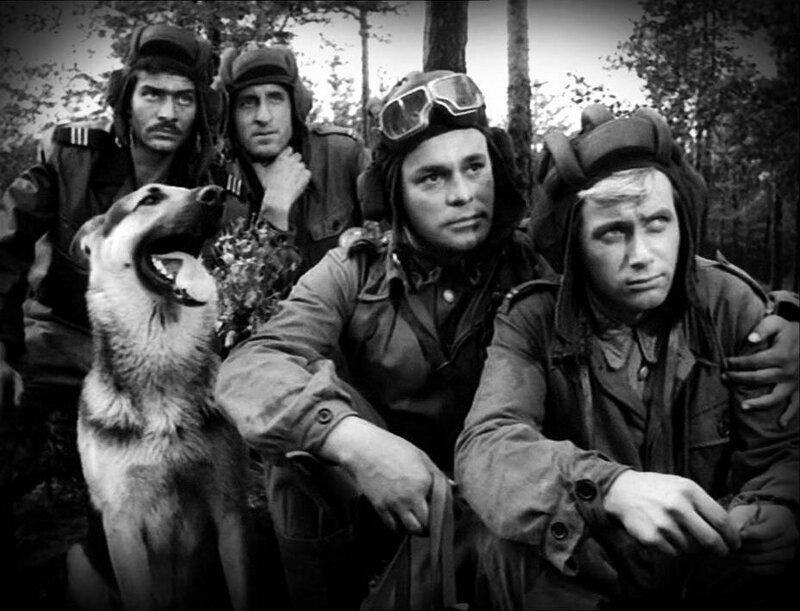 """""""Четыре танкиста и собака"""" 1966-1970 год. Режиссер Конрад Наленцкий Студия Zespół Filmowy Syrena"""