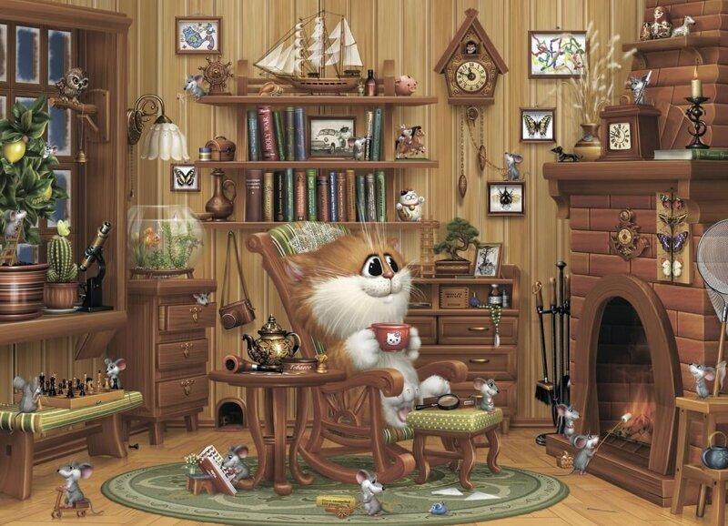 чтобы анимационные коты алексея долотова особенно хочется порадовать