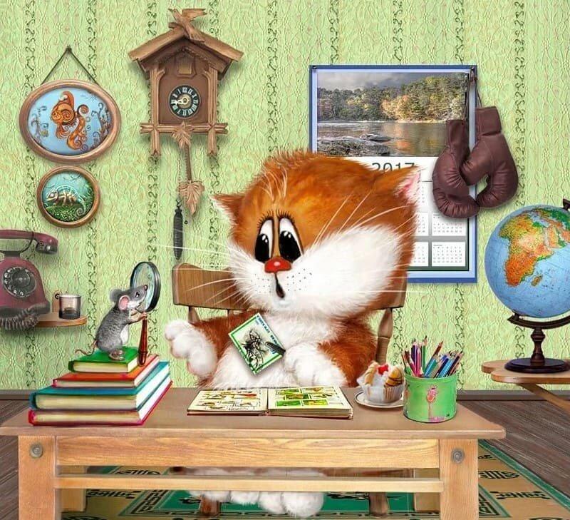 так анимационные коты алексея долотова это при