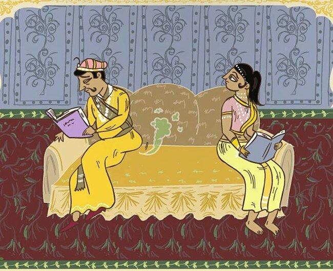 камасутра об ухаживании и браке