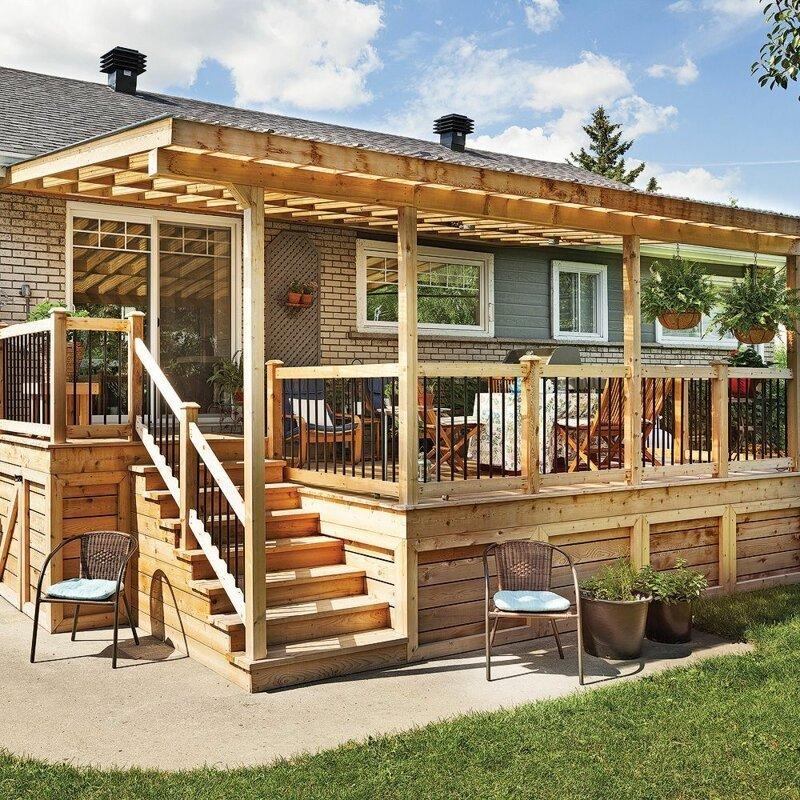 видеогалереи, веранда для деревянного дома фото принято, определён стиль