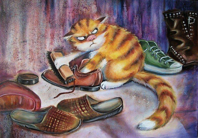 фото кот и тапки картинки картина по номерам там есть развлечения