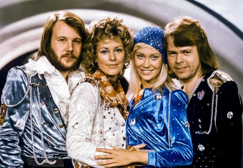 1. ABBA — Happy New Year
