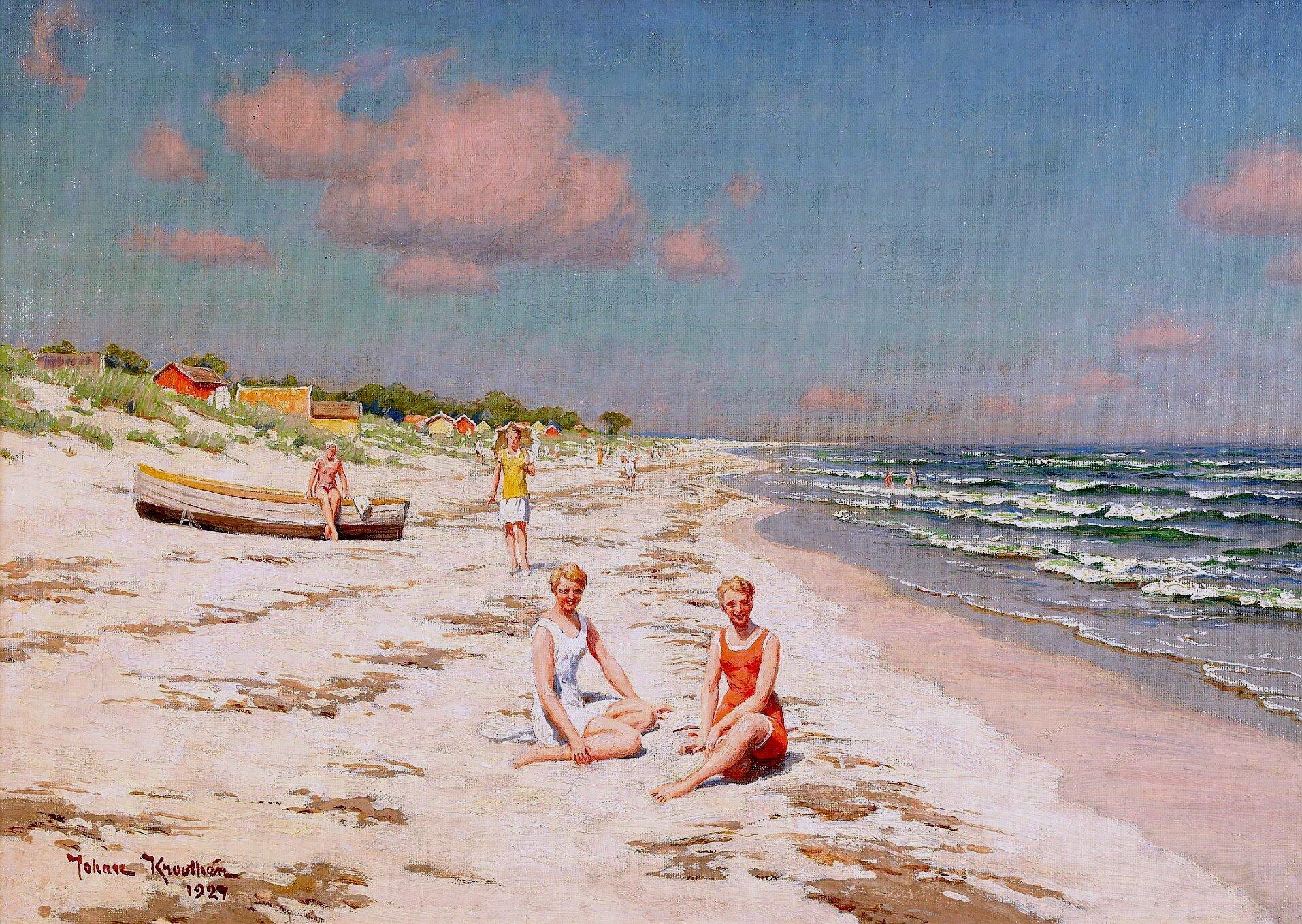 сможет пляж картинка художника бровями фонтан, честно