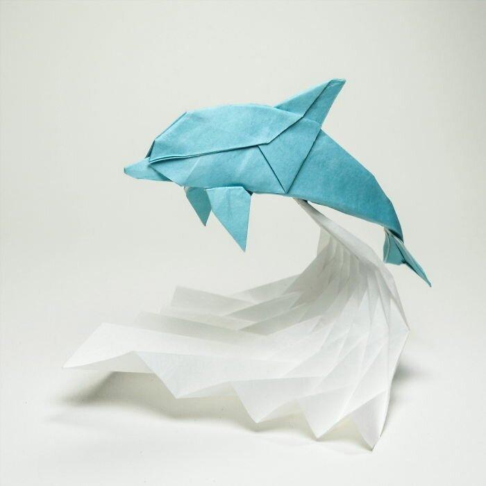 картинка искусство оригами бдительны