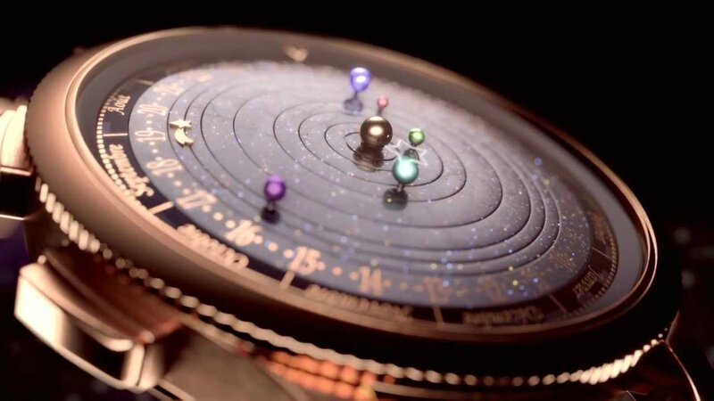 Van Cleef & Arpels Complication Poetique Midnight Planetarium Watch