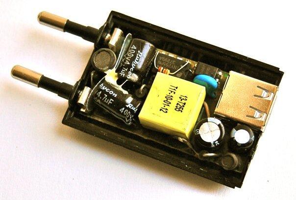 Конструкция USB-зарядок