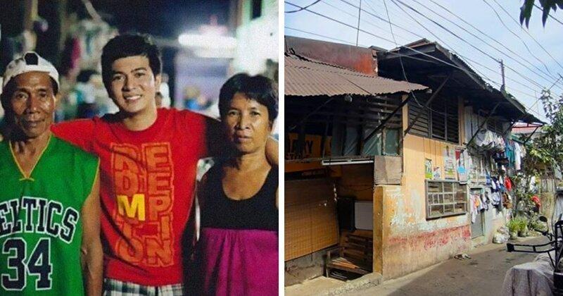 Молодой человек купил шикарный дом для своих приемных родителей