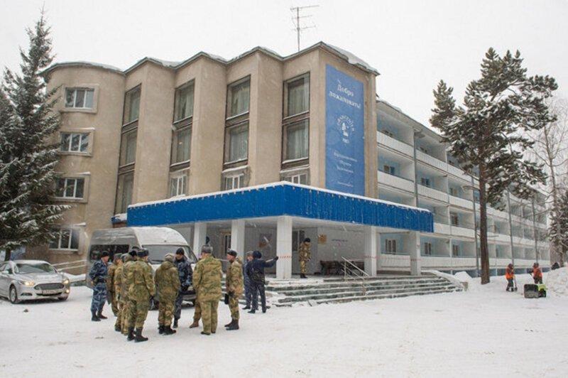 Журналистам показали, как выглядит центр для эвакуированных из Китая россиян