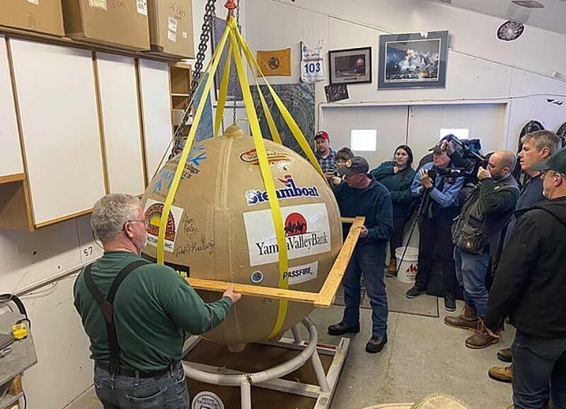 Самый большой в мире фейерверк успешно запустили над Колорадо