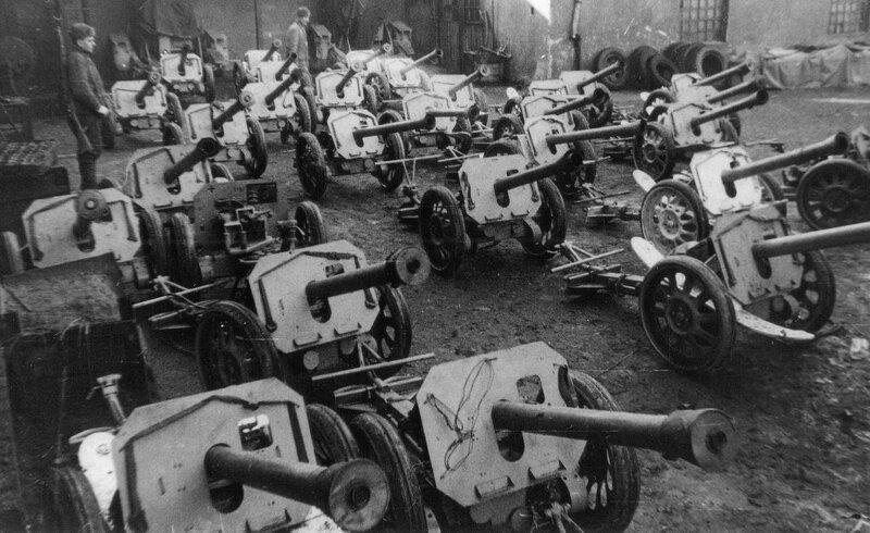 Коллекция Rakatenwerfer 43s, собранная  для отправки в СССР