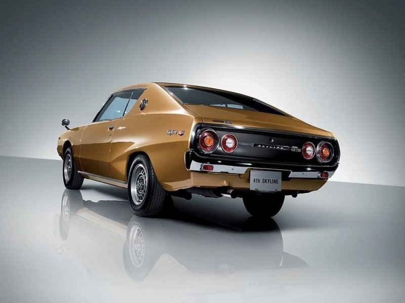 Nissan Skyline 2000GT-X Coupe 1972–1975