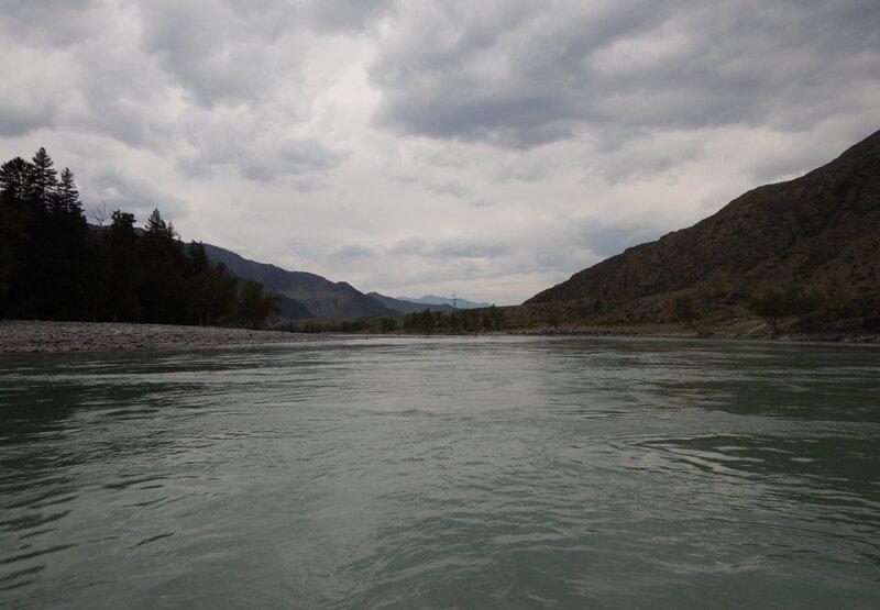 Сплав по реке Катунь. Часть 1