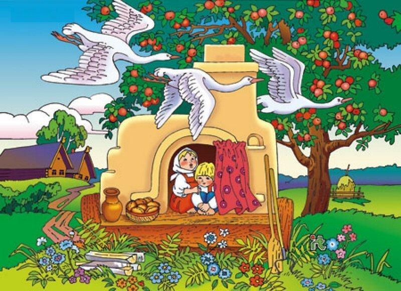 Ктотакие «гуси-лебеди» изрусской народной сказки