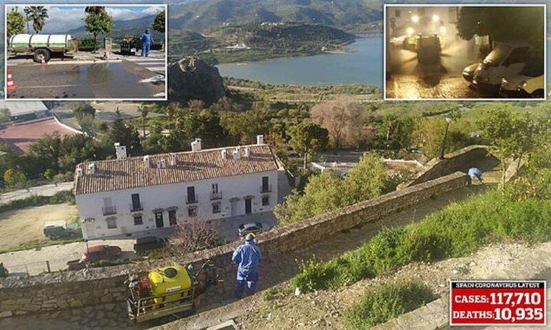 Испанский городок не пустил к себе коронавирус