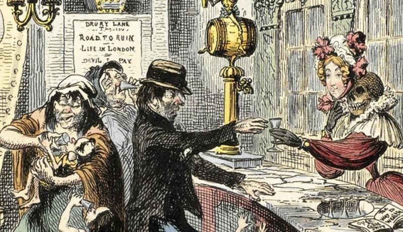 Эпидемия джина: как Лондон чуть не погубило дешевое пойло
