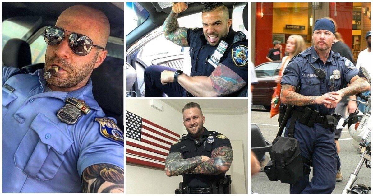Американская полиция, как отдельный вид искусства: копы в полной боевой раскраске