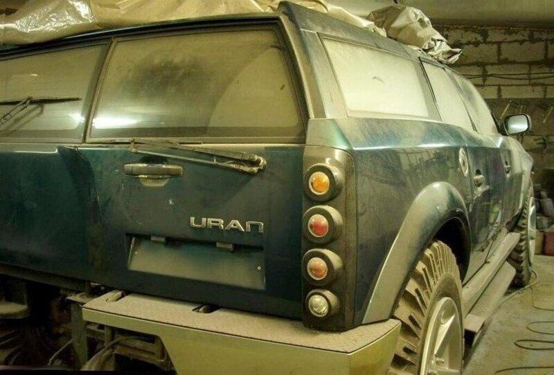 Российский внедорожник «Уран» с двигателем от БМП поразил американцев