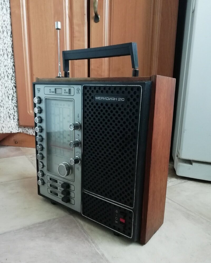 """11. Радиоприемник """"Меридиан"""""""