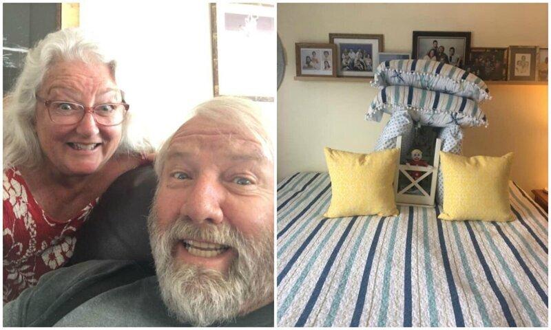 Муж впервые за 45 лет начал заправлять кровать - и теперь удивляет жену шедеврами