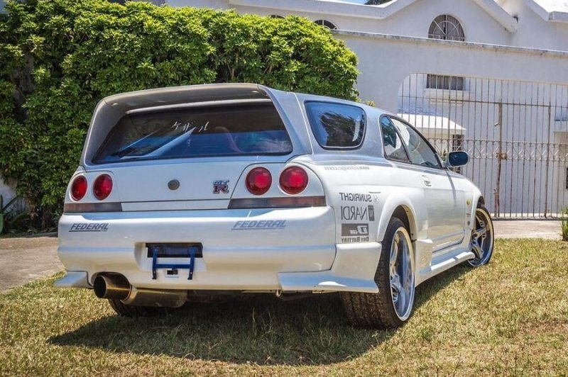 Skyline GT-R R33 «Speedwagon» — универсал, обогнавший на треке McLaren F1