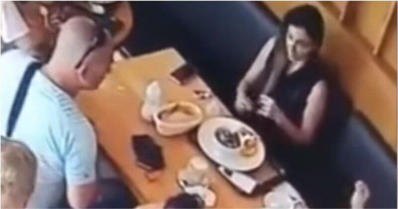 Наглая семейка решила не платить за обед в кафе