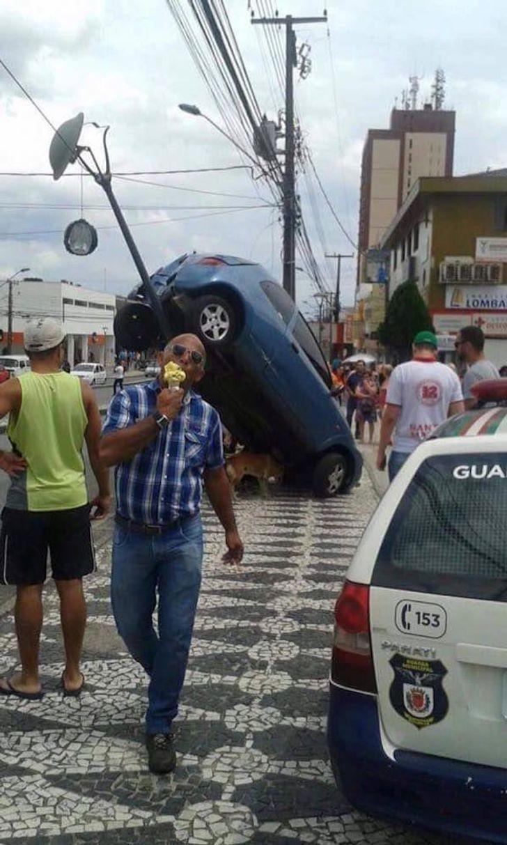 Какая авария?